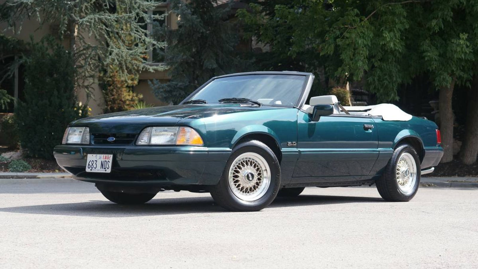 At 20000 could this 1990 ford mustang 5 0 be the ultimate pop