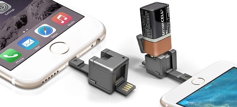 Illustration for article titled This Tiny Multi-Function Cube Can Save a Dying Smartphone