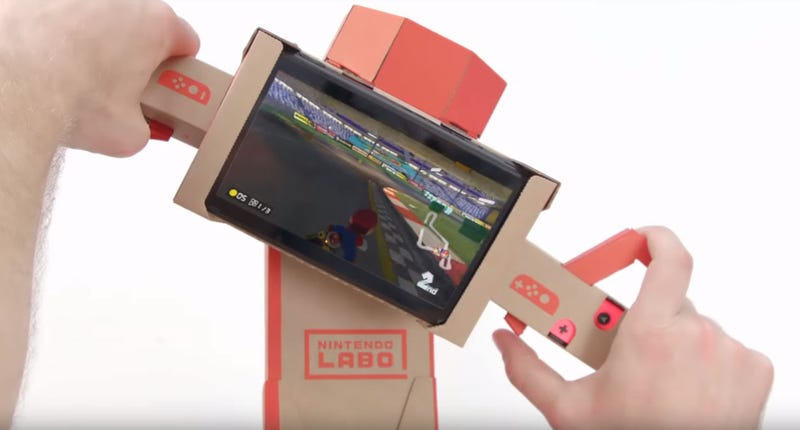 Illustration for article titled Mario Kart 8 DeluxeNow Supports Nintendo Labo