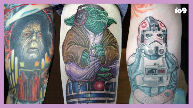 Inking the Dark Side: What This Artist Learned From 20 Years of Star Wars Tattooing