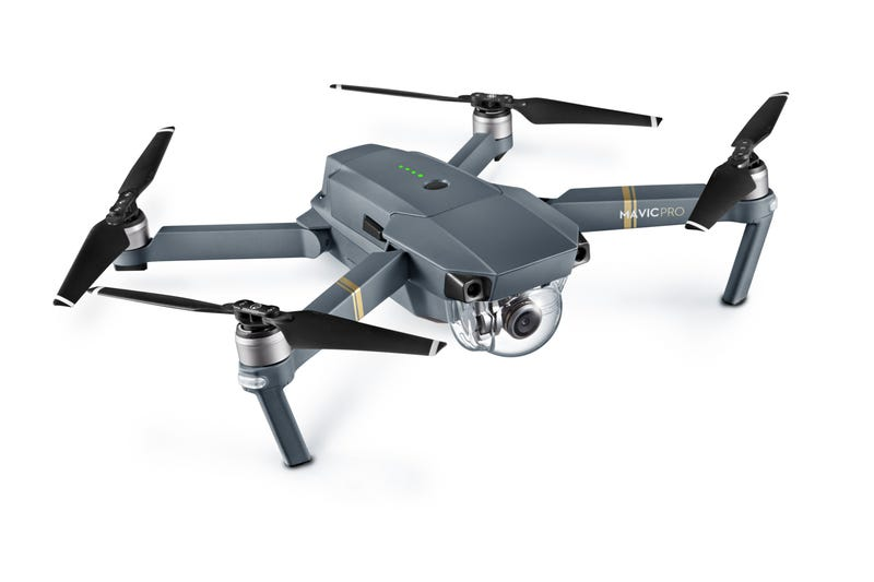 Illustration for article titled DJI's Mavic Pro Is Tiny, Foldable, and Super Smart