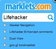 Illustration for article titled Marklets Is One Bookmarklet to Rule Them All