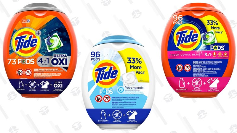 $3 Off Tide Pods | Amazon | Discount shown at checkout