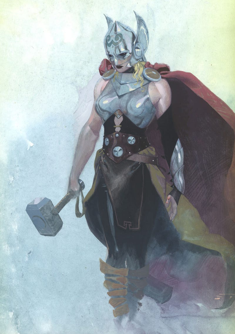 marvel s new thor is a woman