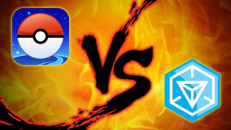 Augmented Reality Showdown: Pokémon Go vs. Ingress