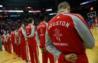 """Illustration for article titled Lawsuit: Rockets Players Called Gay Caterer A """"Faggot"""""""