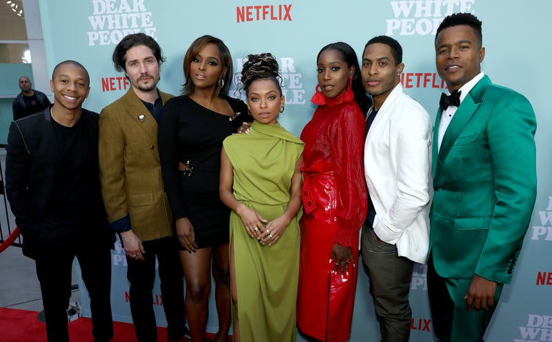Cast members of Dear White People Vol. 2