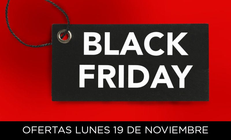 Illustration for article titled Las mejores ofertas de la semana Black Friday: lunes 19