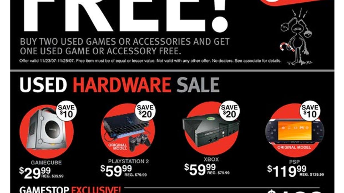 EB Games/GameStop Black Friday Ads Revealed
