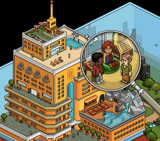 Illustration for article titled Virtual Furniture Amounting To Thousands Stolen From Habbo Hotel