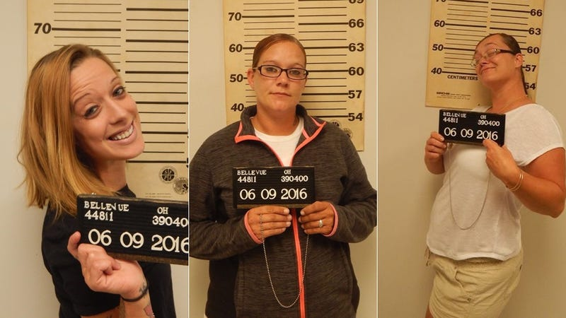Ohio Women Take Happy Mugshots After Being Arrested for