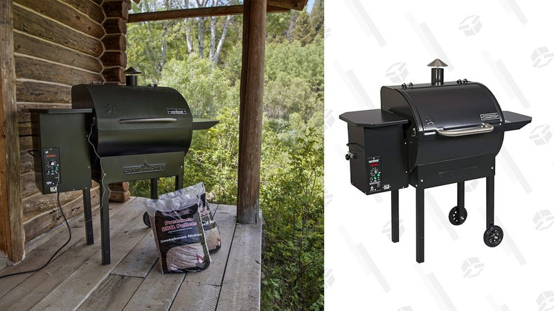 Camp Chef SmokePro DLX Pellet Grill | $500 | Amazon
