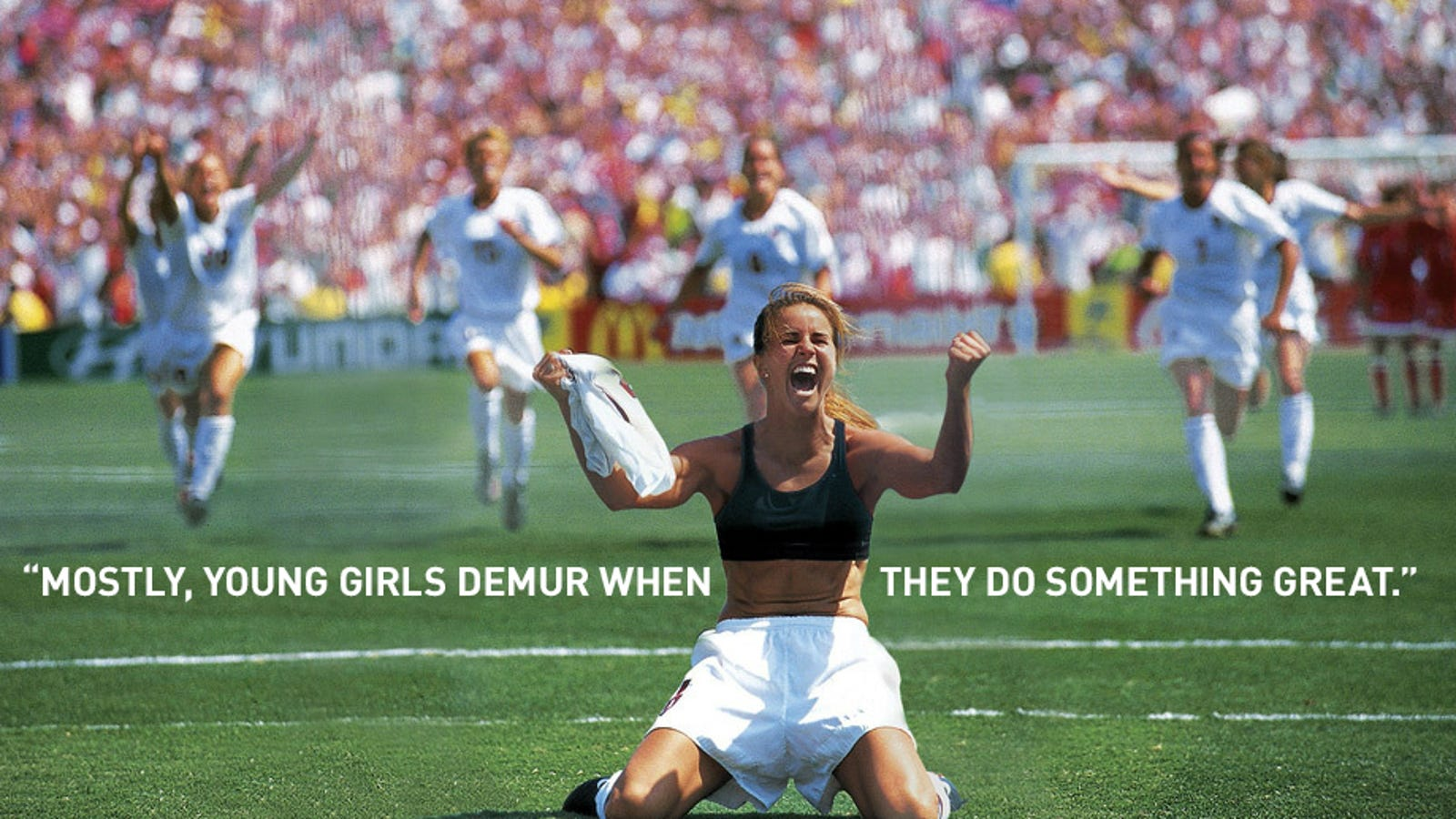 How The Most Iconic Photo In Women's Soccer Was Almost Never