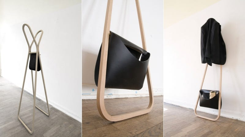 Illustration for article titled A Coat Rack so Attractive, You Might Not Want to Hang a Coat on It at All
