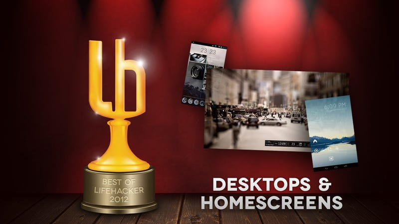 Illustration for article titled The Most Popular Featured Desktops and Home Screens of 2012