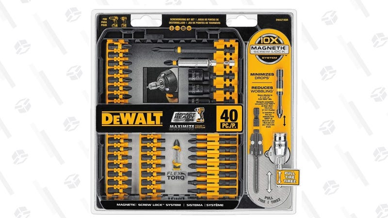 DeWalt FlexTorq Impact-Ready Bit Set | $18 | Amazon