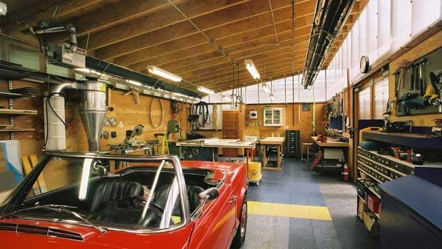 How to transform your garage into the ultimate diy workshop - Garage work shop photos ...