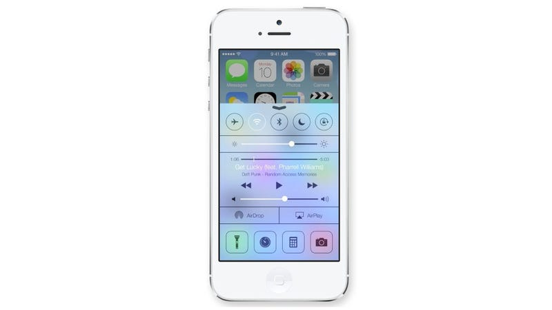 Illustration for article titled iOS 7's Control Center Finally Puts Settings At Your Fingertips
