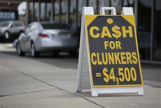 Illustration for article titled Cash For Clunkers Still Running