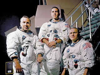 Illustration for article titled Here's Your Once In A Lifetime Chance To Meet The Entire Crew Of Apollo 8