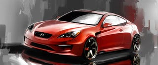 Illustration for article titled ARK Performance Genesis Coupe