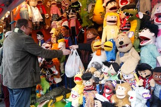 Illustration for article titled Muppets Readily Available At The Muppet Shop, Of Course