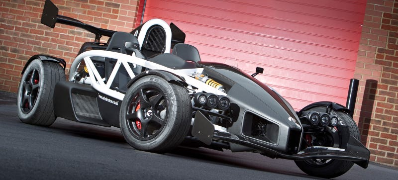 Illustration for article titled The Ariel Atom 3.5R Will Eat Supercars For Breakfast, Lunch and Dinner