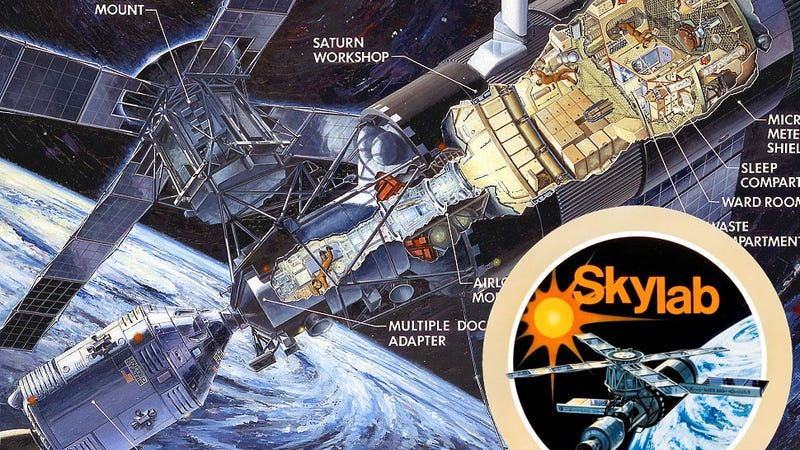 Illustration for article titled Why Skylab Was America's First And Best Home In Space