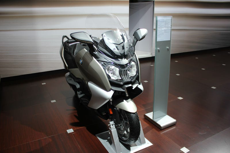 Illustration for article titled The BMW C650 GT: The Loneliest Vehicle On Display At NYIAS?
