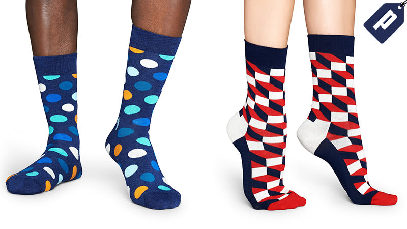 Illustration for article titled Knock 40% Off Your Entire Order Of Happy Socks + Free Shipping