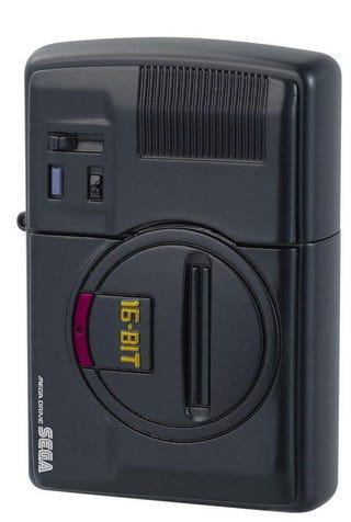 Illustration for article titled Sega Genesis & Saturn Zippo Lighters