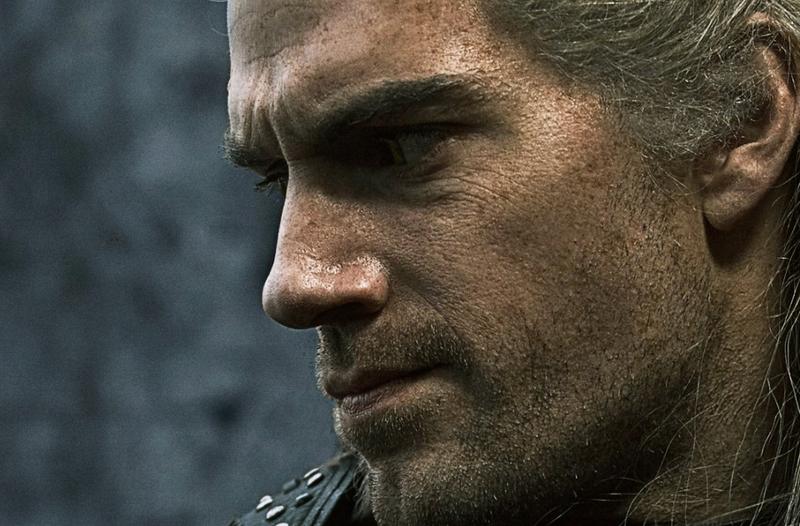 Henry Cavill as Geralt.