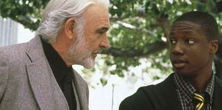 Sean Connery and Robert Brown in Finding Forrester (Courtesy of Columnbia Pictures)