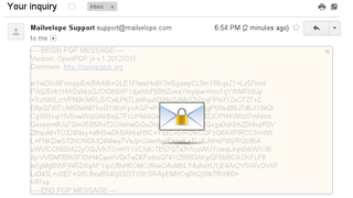 Illustration for article titled Mailvelope Offers Free, Easy-to-Use PGP Encryption for Gmail, Outlook, and Other Webmail Services