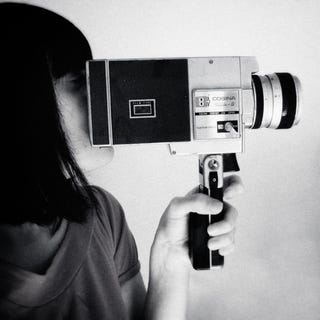 Illustration for article titled Art: During the Revolution of 1968, I Wonder What She's Filming