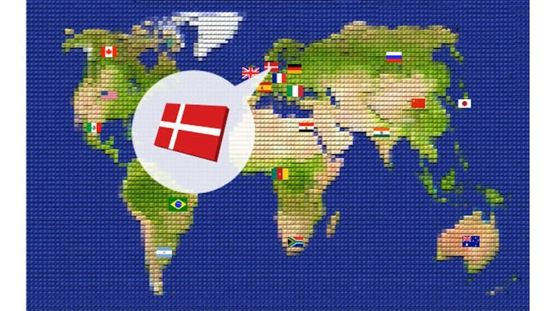 Track Your Travels on a SolidLego Map of the World – Map To Track Your Travels