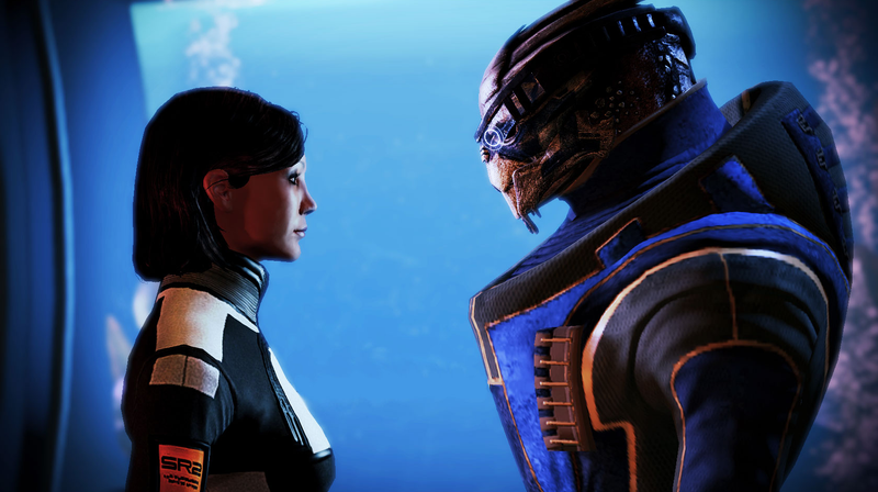 Illustration for article titled Why Women Want To Have Sex With Garrus