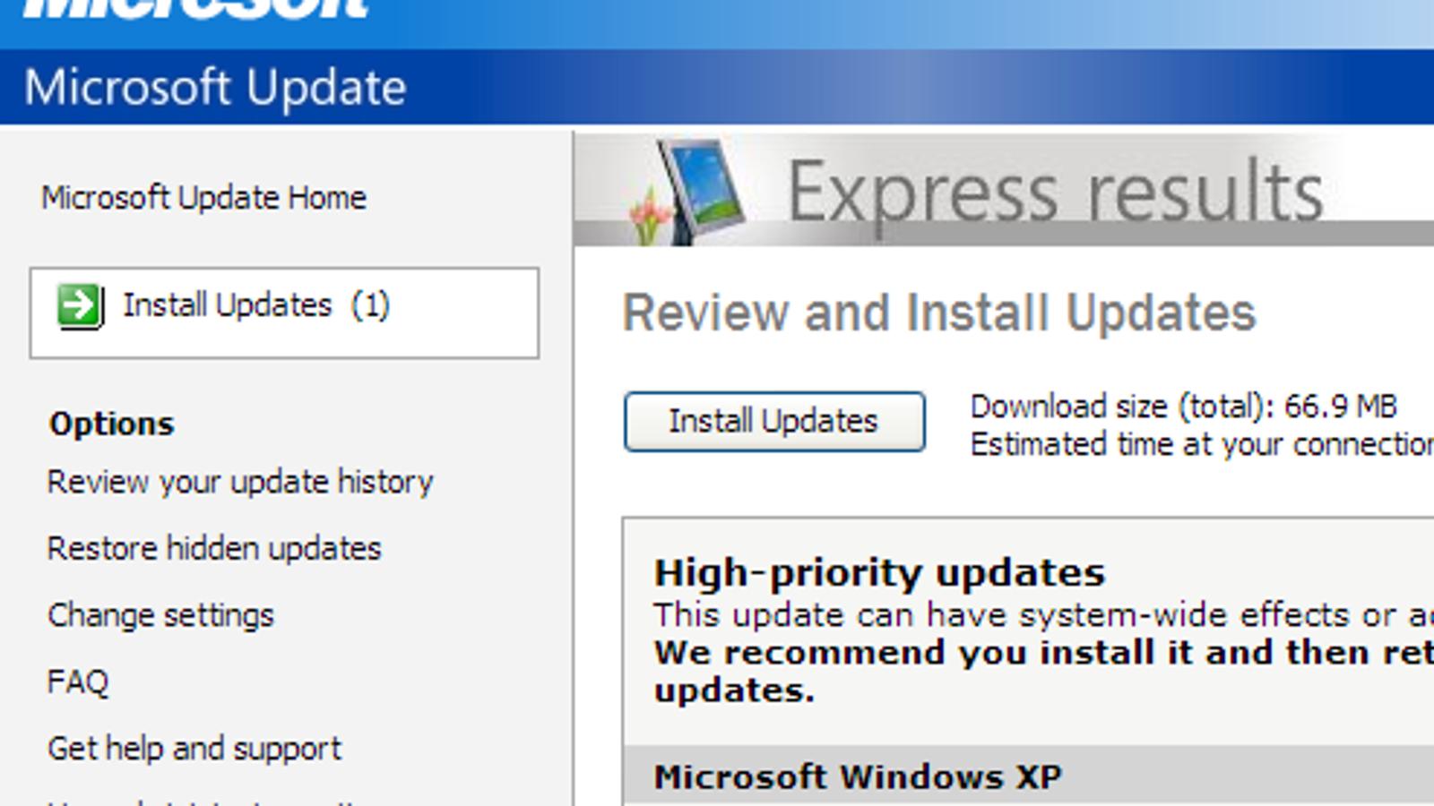 Windows XP service pack 1 Xp. Recherche : 83 utilisateurs inconnus ...