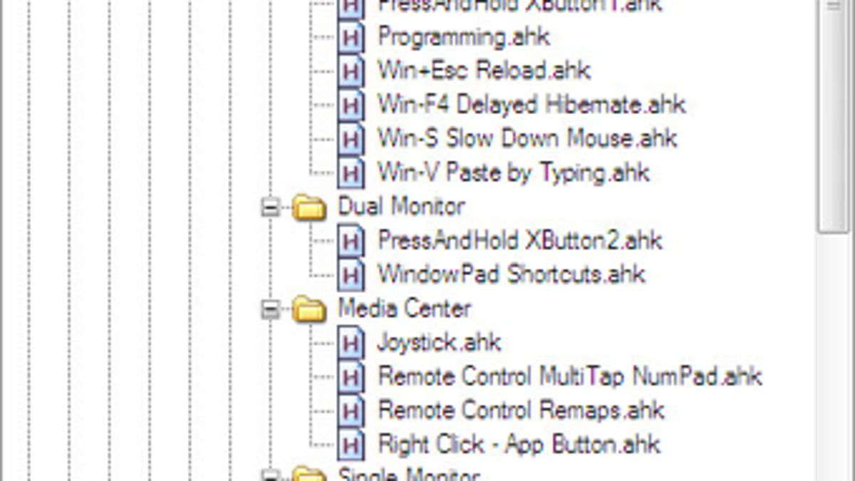 AutoHotkey AutoInclude Organizes, Consolidates Your AHK Workflow