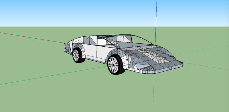 Illustration for article titled Finished Car (Car Project #4)