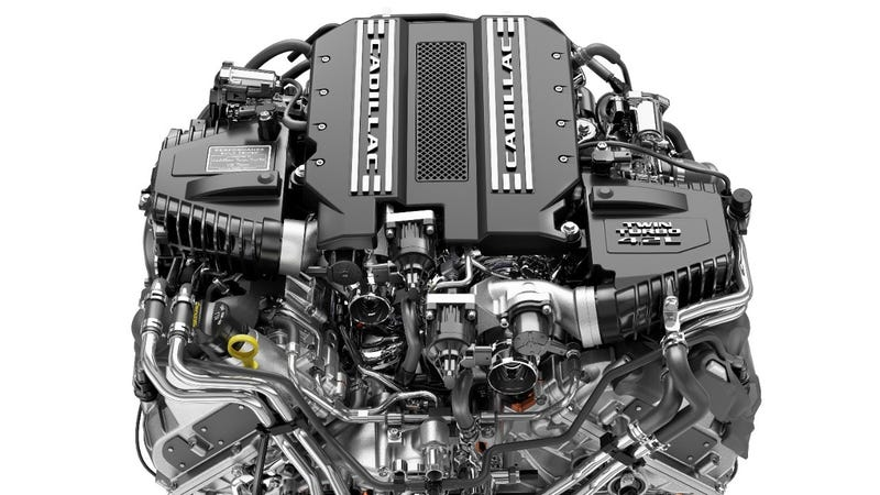 Illustration for article titled This Twin-Turbo V8 Is The First Cadillac-Only V8 In Decades