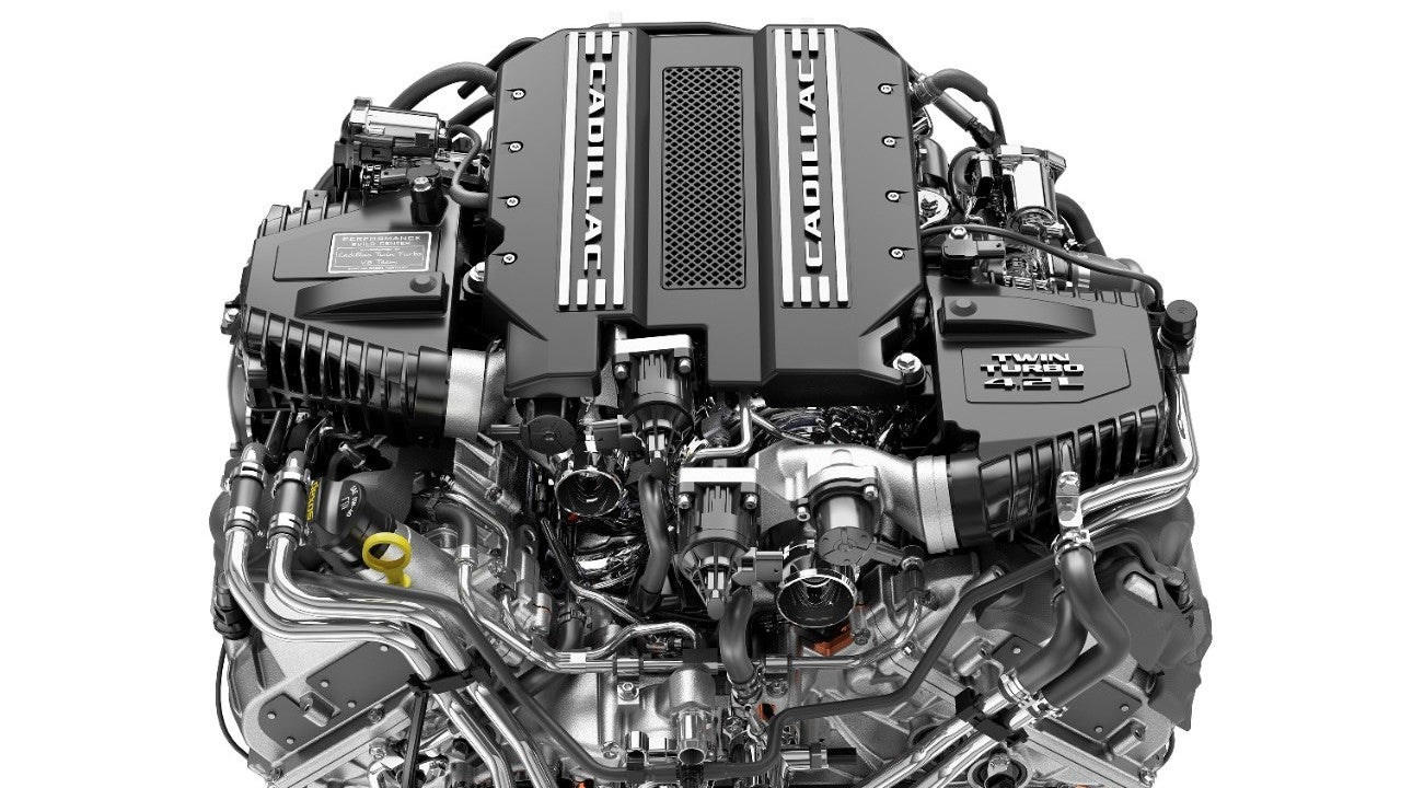 this twin turbo v8 is the first cadillac only v8 in decades rh jalopnik com Cadillac V6 Engine Specs Ford V6 Diesel Engines