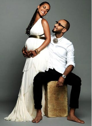 Alicia Keys and Swizz BeatzAlicia Keys Instagram