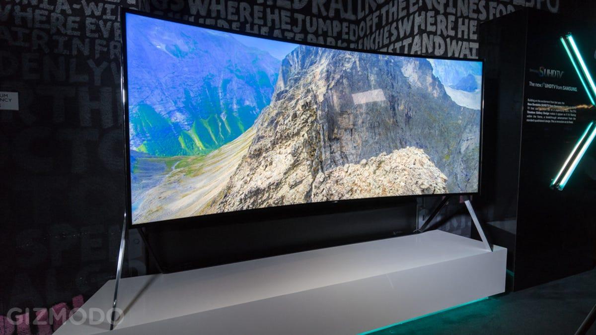 26a1e38b2f8 La joya en televisores de Samsung es esta gigantesca pantalla flexible