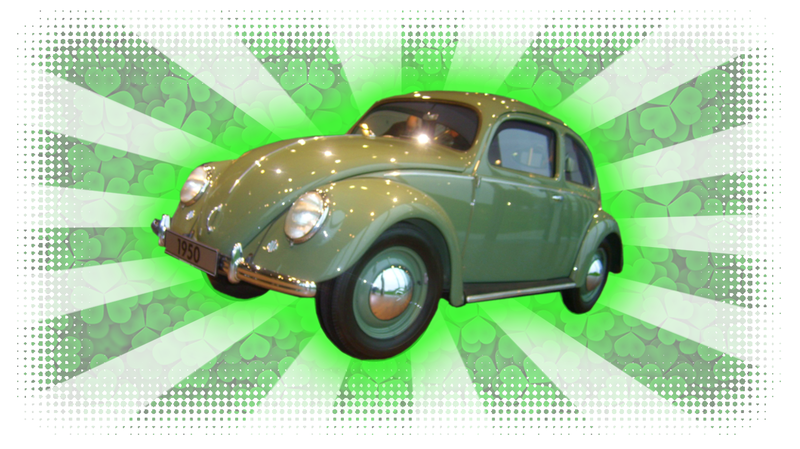 Illustration for article titled Just Watch Me Tie St. Patrick's Day To Old Volkswagens