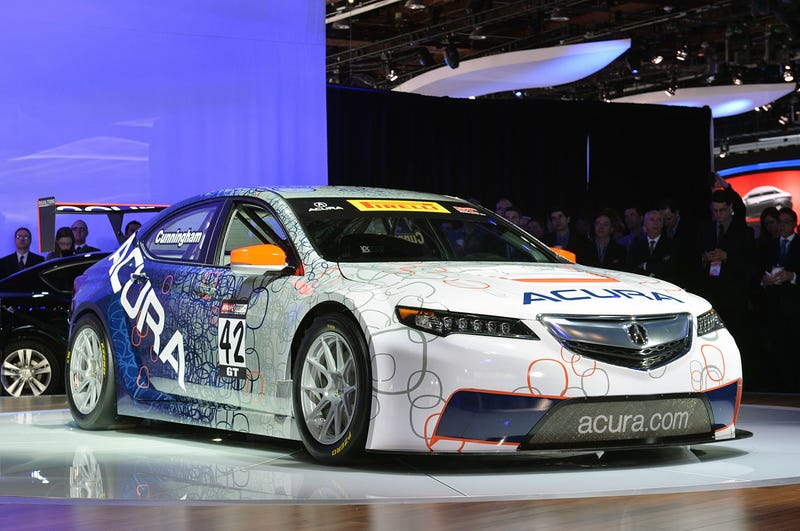 Acura TLX to compete in Pirelli World Challenge Championship on