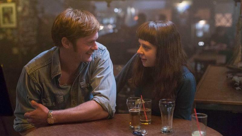 Alexander Skarsgård and Bel Powley in The Diary Of A Teenage Girl