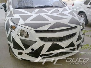 Illustration for article titled Chinese Chevy Lova Gives Clues To Next-Generation Chevy Aveo