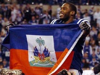 Illustration for article titled Super Bowl Subplot #5: Haiti's Pierre Garçon