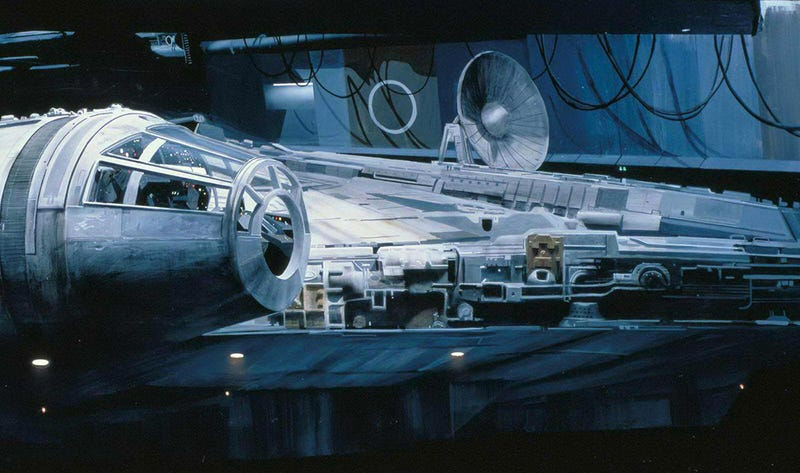 Así se hicieron los matte paintings de la primera trilogía de Star Wars